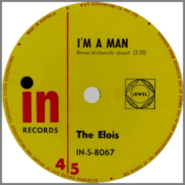 I'm A Man B/W By My Side by The Elois