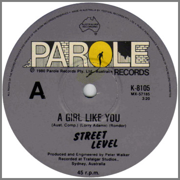 A Girl Like You B/W Could This Be Heaven by Street Level