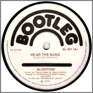 Hear The Bang B/W Country Fair by Bluestone