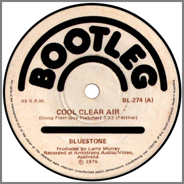 Cool Clear Air B/W Knowing You by Bluestone