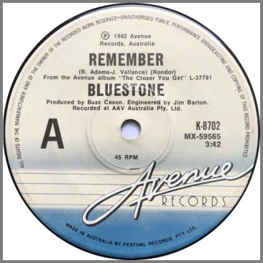 Remember B/W Oh How She Loves Me by Bluestone
