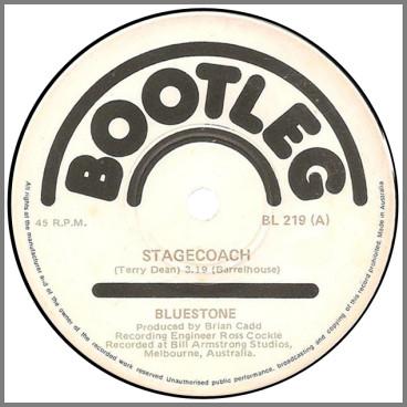 Stagecoach B/W Sing Me A Rainbow by Bluestone
