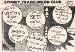 Trade Union Club, Sydney. NSW