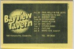 Bayview Tavern, Gladesville. NSW