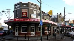 Unity Hall Hotel, Balmain. NSW