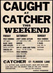 Catcher, Melbourne. VIC
