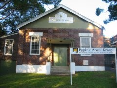 Venturer's Scout Hall - The Epping Scout Group, Epping. NSW