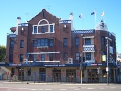 Captain Cook Hotel, Paddington. NSW