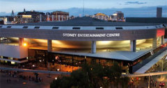 Sydney Entertainment Centre, Sydney. NSW