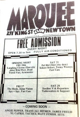 Marquee Club, Newtown. NSW
