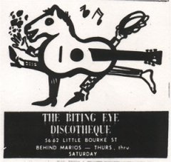 The Biting Eye Discotheque, Melbourne. VIC