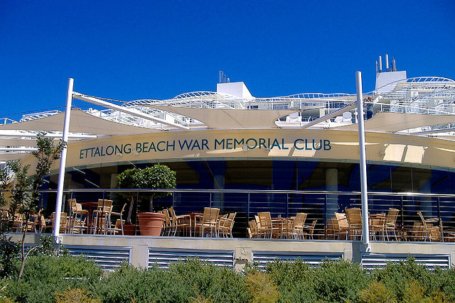 ettalong beach war memorial club  ettalong beach  nsw