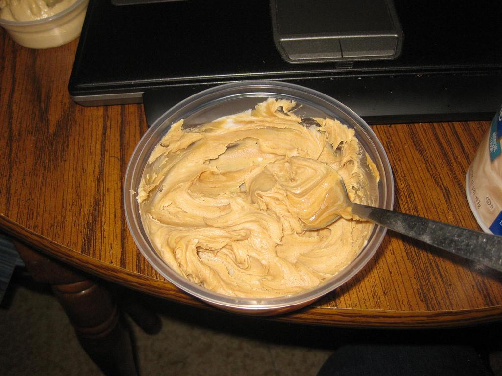 blended peanut butter