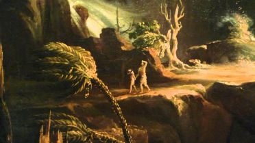 Expulsion from the Garden of Eden (thomas Cole)