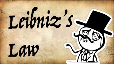 Leibniz' Law