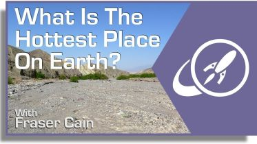 Earth - Hottest Place