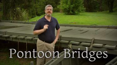 American Civil War - Pontoon Bridges