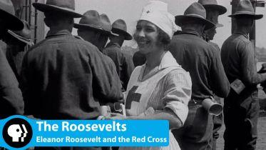 Eleanor Roosevelt - Red Cross Service
