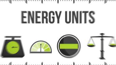 Energy - Units