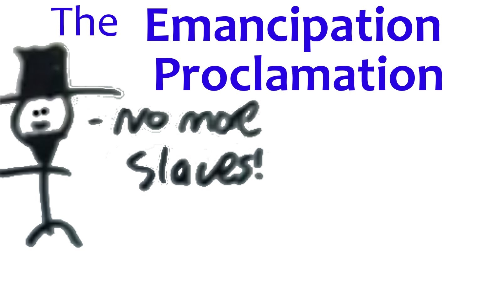 The Emancipation Proclimation