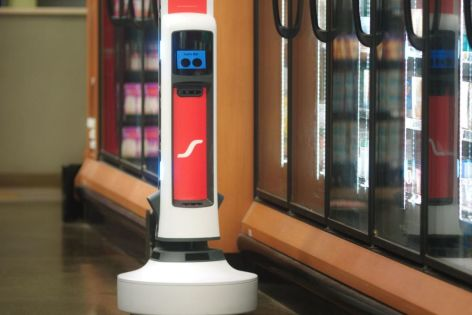 Tally The Cute Shelf-Scanning Robot Is Coming To More Grocery Stores