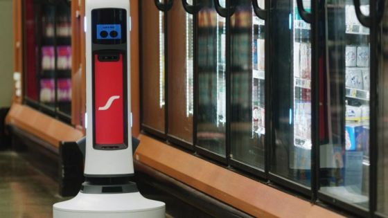 AI-powered robot Tally helps grocery stores manage inventory, boost sales