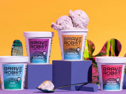 US Expansion: Fermented Dairy Ice Cream Brave Robot Now Available At 5000 Stores