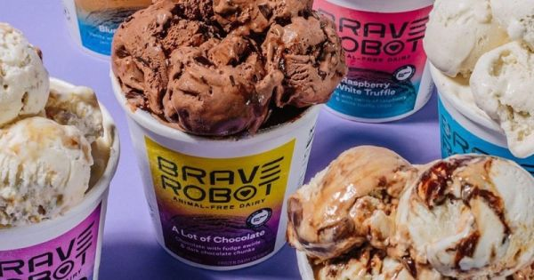 This Ice Cream Is Made from Lab-Grown Vegan Milk
