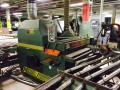 "Used Mereen Johnson 431-DC 30"" arbor gang rip saw."