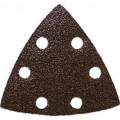 ONE FIT 60 Grit Tri Sand Paper w/Vacuum Holes 5 Pack