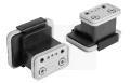 Vacuum block for Schmalz 2-circuit console VCBL-K2 125x75x100 L