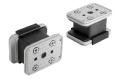 Vacuum block for Schmalz 2-circuit console VCBL-K2 160x115x100
