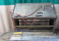 Used Ritter Model R-450V Raise panel door assembly system