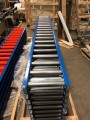 Lewco Gravity Roller Conveyor Assembly.