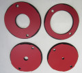 SawStop 4 pc Phenolic Insert Ring Set for Router Plates