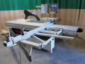 Used CANTEK P400E 3-Axis Sliding Table Saw, 230Volt 3 phase