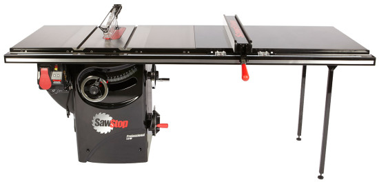 Sawstop pcs31230 tgp252 professional cabinet saw w 52 for 52 table saw
