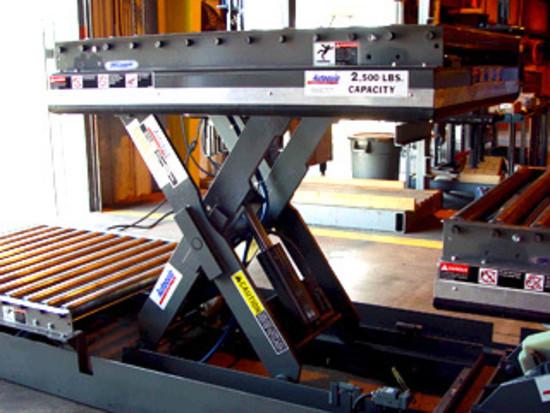 Industrial Material Handling Lifting Equipment : Autoquip scissor lift table series hermance