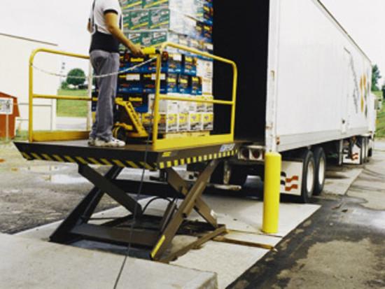 Industrial Material Handling Lifting Equipment : Autoquip dock lift pltc hermance