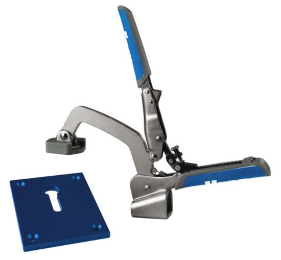 Kreg automaxx bench klamp system hermance for Bench tool system