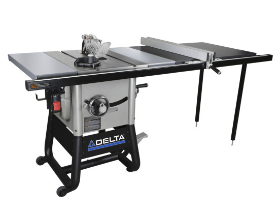 Delta 36 5052 10 inch contractor saw with 52 fence hermance for 52 table view