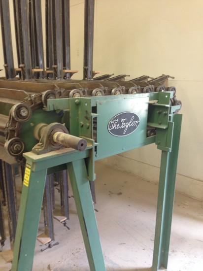 Used Taylor 10 Section 8 5w Clamp Wheel Hermance Com