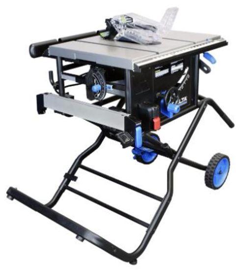 Delta 10 Left Tilt Portable Table Saw With 30 Rh Rip Hermance