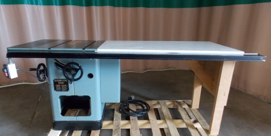View large Used table saw