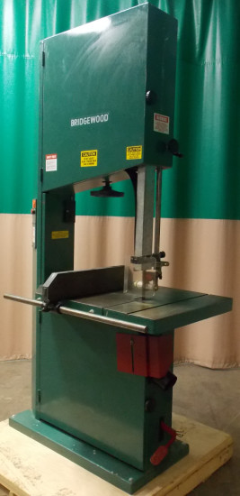 Used Bridgewood Model Bs740 29 Quot Band Saw