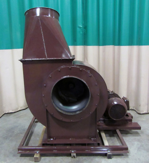 Industrial Dust Blowers : Used hp dust collector motor blower