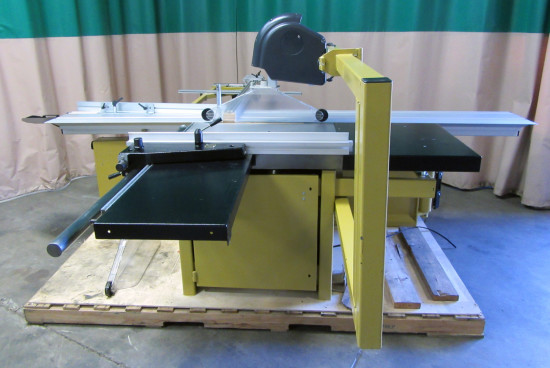 Used powermatic hps126 sliding table saw Used table saw