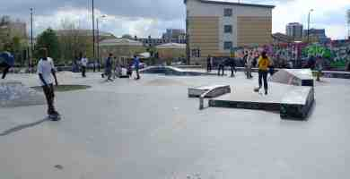 Photo of Mile End Skatepark