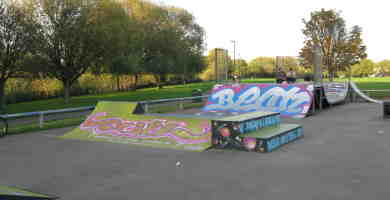 Photo of River Brent Park Skatepark