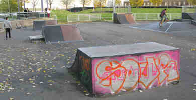 Photo of Woolwich Skatepark